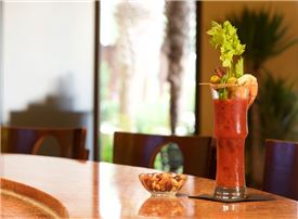 Horseshoe Bay Resort - Enjoy a House Recipe Bloody Mary with Brunch