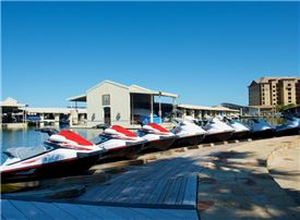 Horseshoe Bay Resort - From Jet Skis to pontoon boat rentals, the Marina has something for everyone.