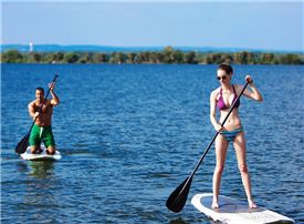 Horseshoe Bay Resort - Enjoy the sunshine on one of our Paddle Boards.