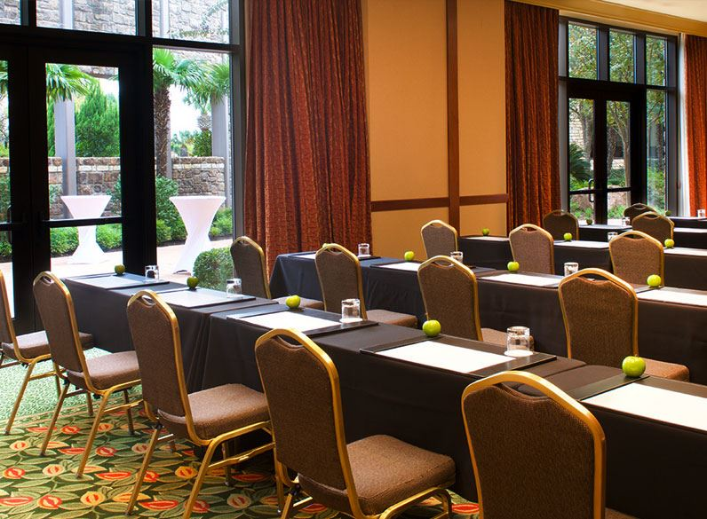 Texas Hill Country Meetings Events Horseshoe Bay Resort - Horseshoe conference table