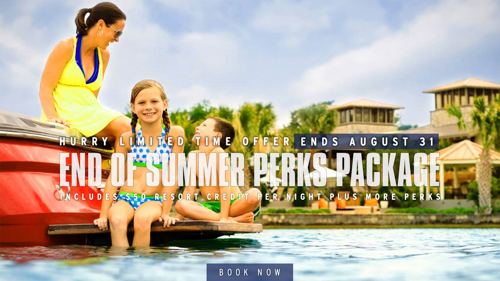 End of Summer Perks Package