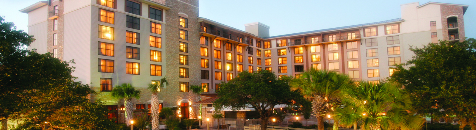 Location of Horseshoe Bay Resort