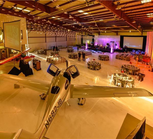 Jet Center Hangar of Horseshoe Bay Resort Texas