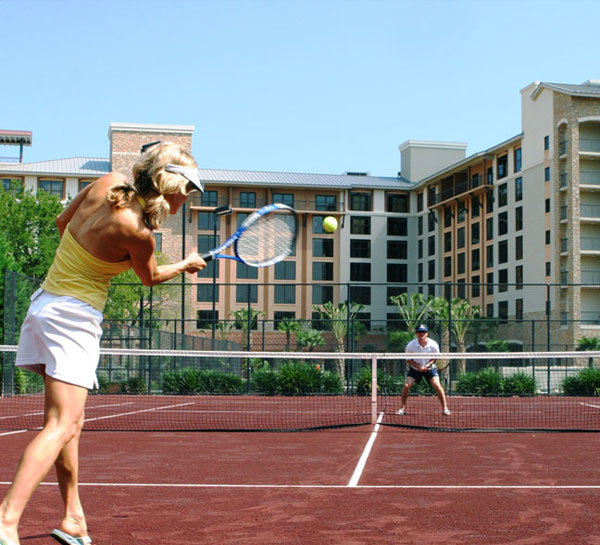 Grand Slam Tennis Package of Horseshoe Bay Resort