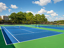 Tennis Courts of Horseshoe Bay Resort